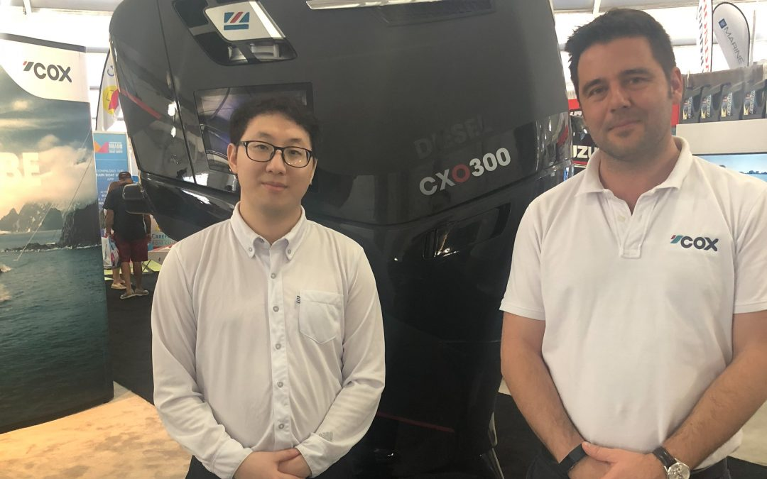 First Asian Distributor Confirmed for Cox Powertrain
