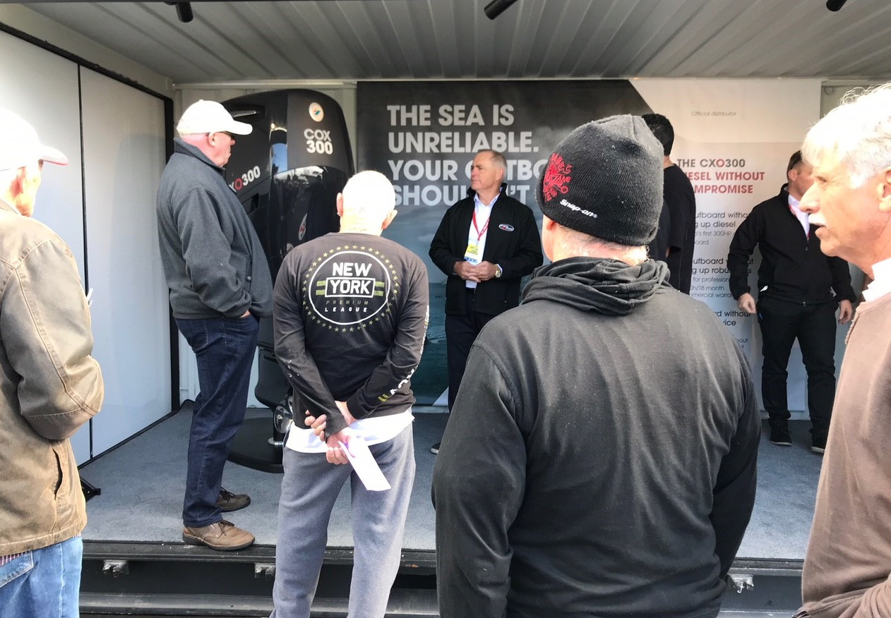 CXO300 takes centre stage at New Zealand Boat Show