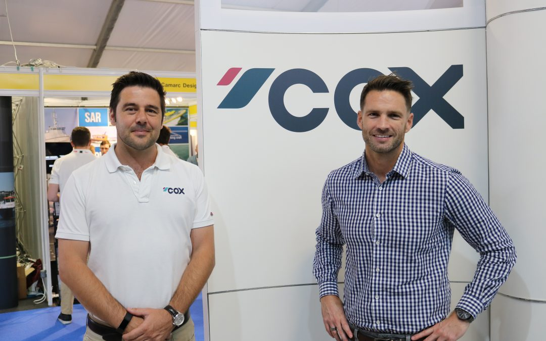 COX NAMES SEASCAPE MARINE SERVICES AS DISTRIBUTOR FOR SOUTH AFRICA AND SUB SAHARA