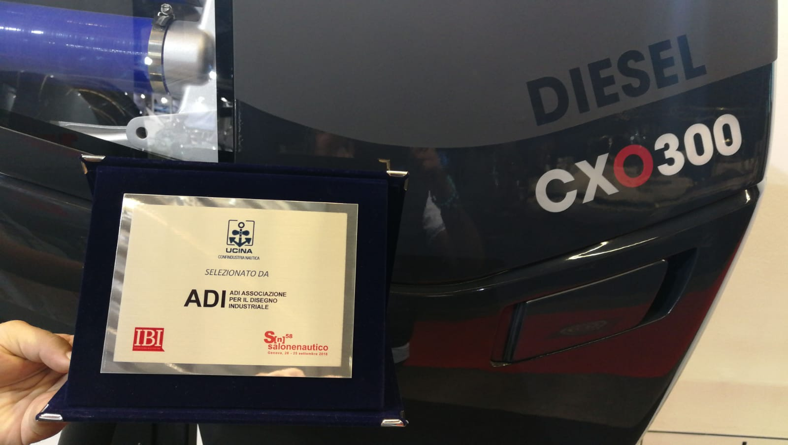 CXO300 wins ADI award for industrial design