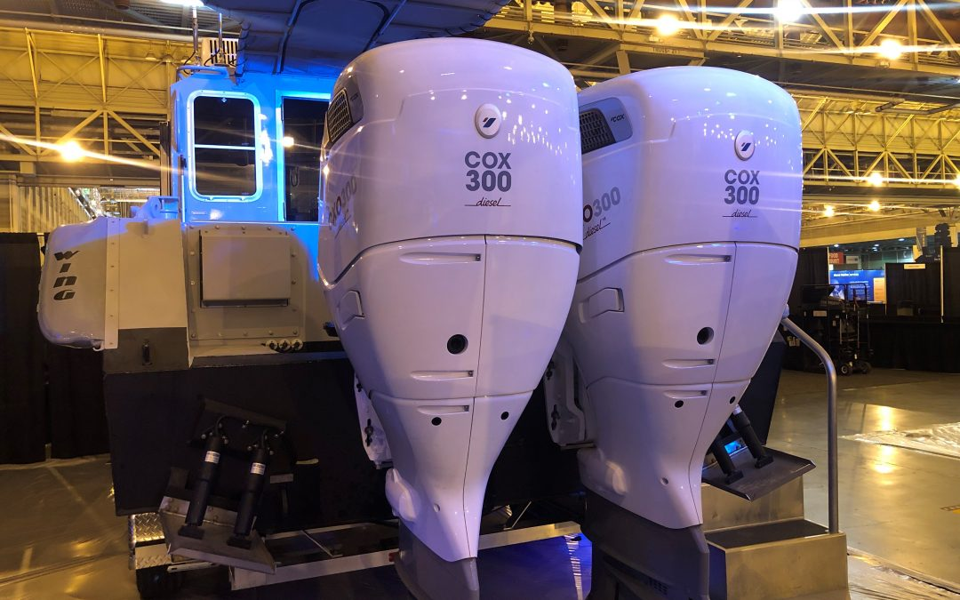 Cox Partners with Metal Shark for Commercial Debut of Diesel Outboard