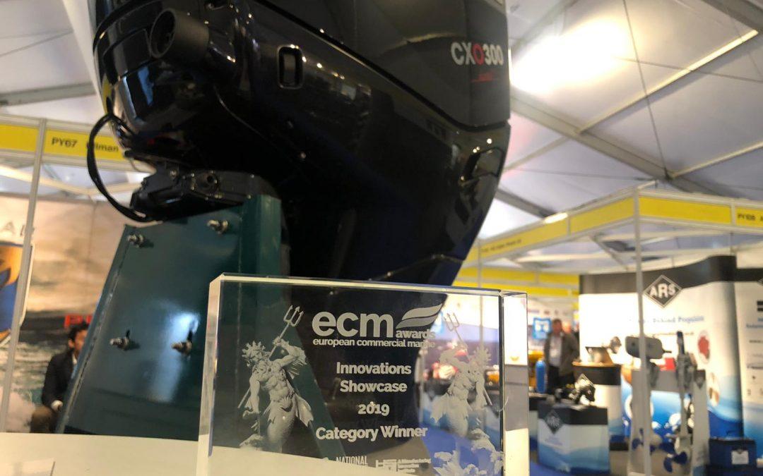 Cox Powertrain Wins Innovation Award at Seawork International Show