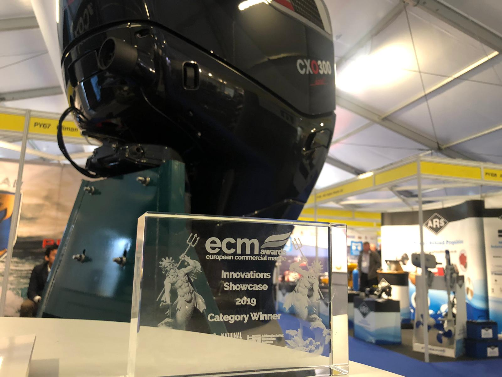Cox Powertrain Wins Innovation Award at Seawork International Show