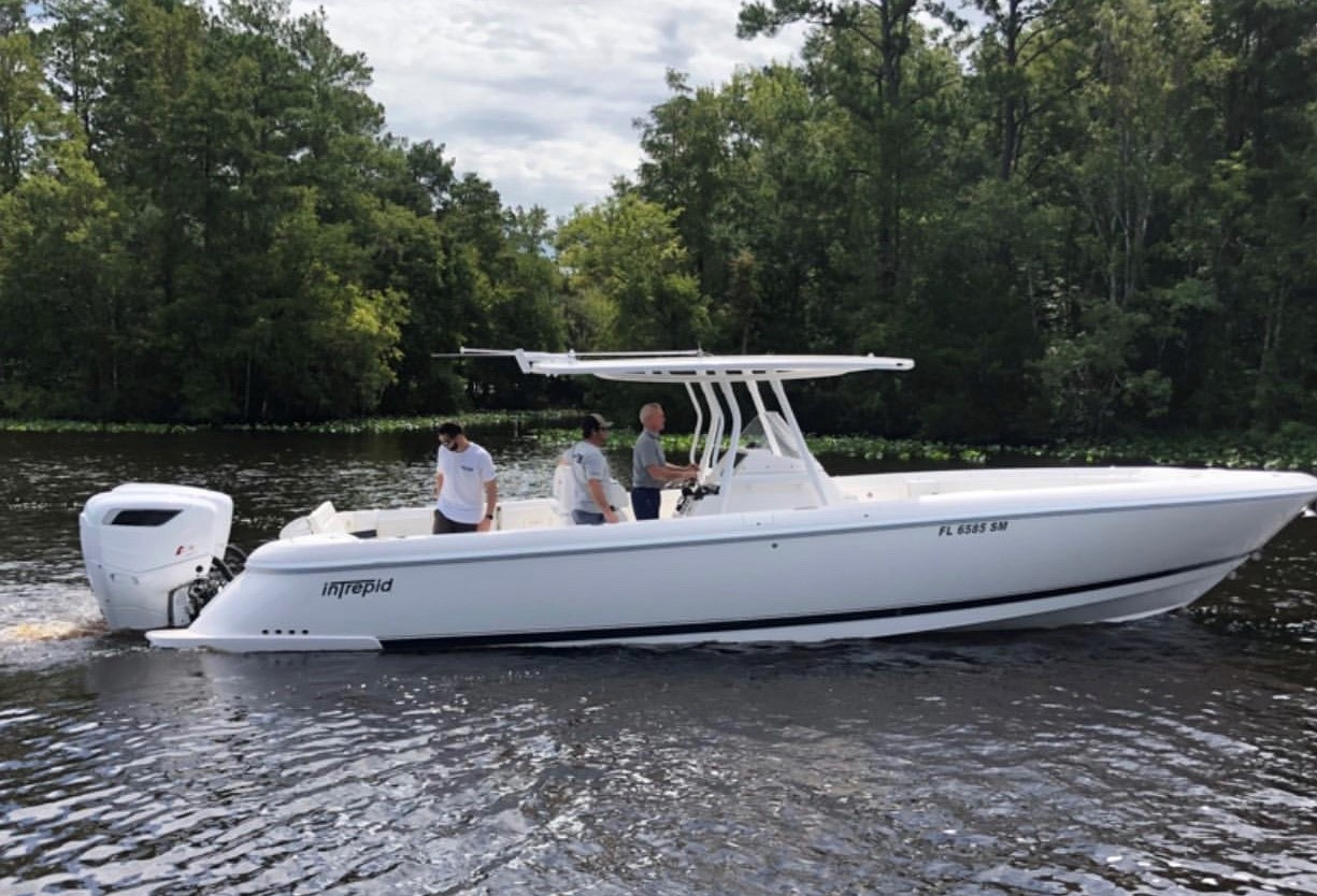 Cox celebrates first North American installation of diesel outboards