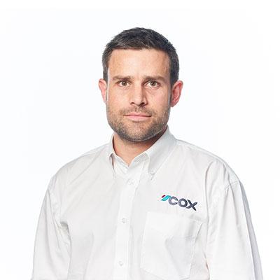 Adam Gurr Cox Marine
